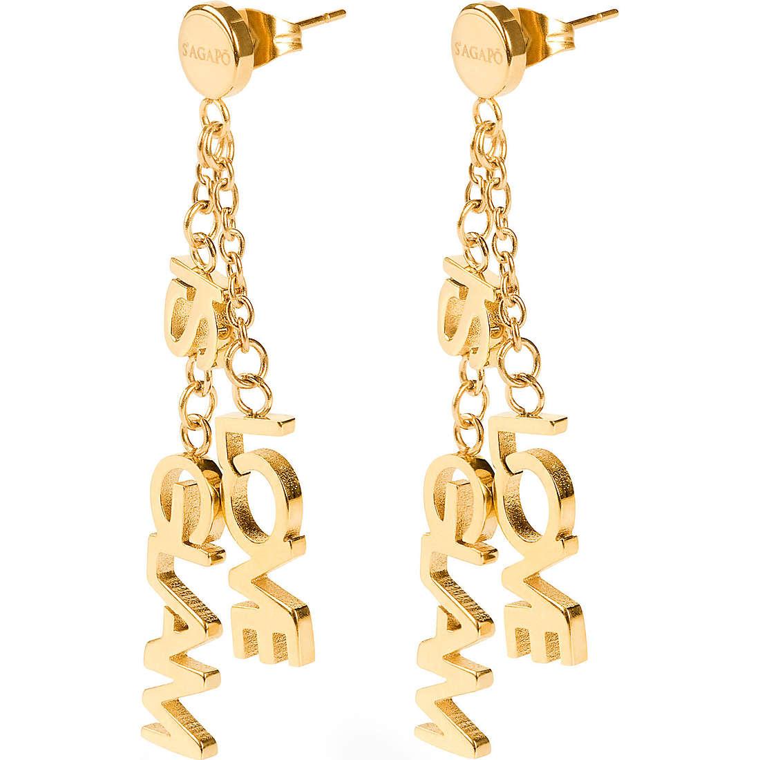 ear-rings woman jewellery Sagapò Love is glam SLG06