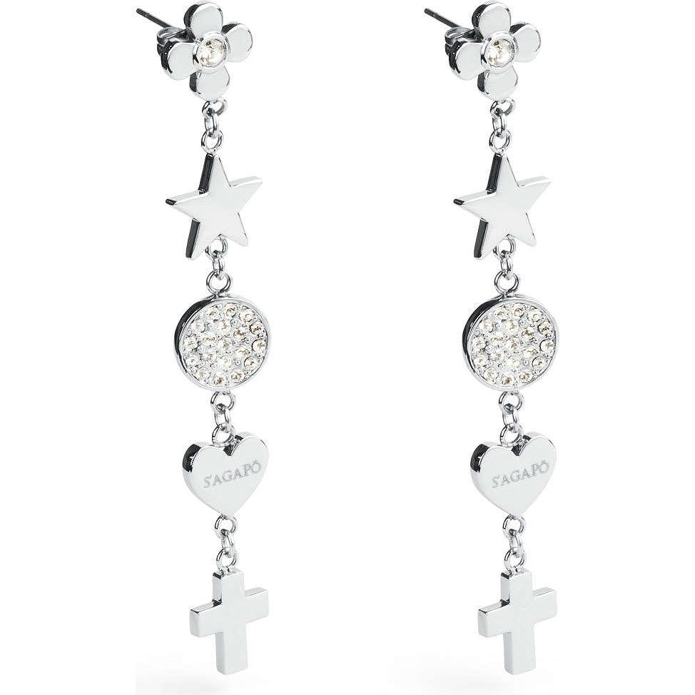 ear-rings woman jewellery Sagapò Prayer SPY21