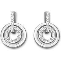 ear-rings woman jewellery Swarovski Circle 5007750