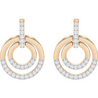 ear-rings woman jewellery Swarovski Circle 5349204