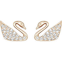 ear-rings woman jewellery Swarovski Swan 5144289