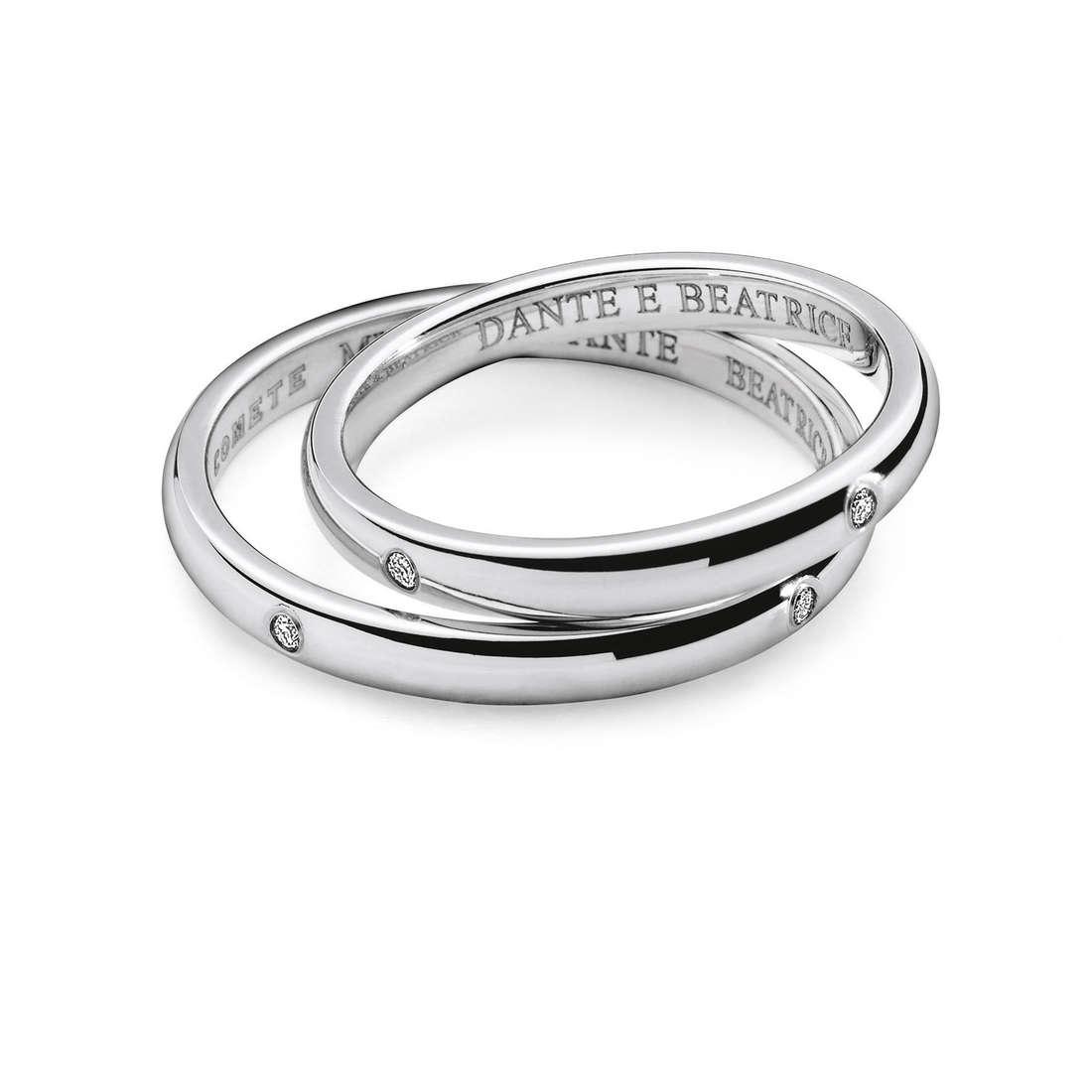 fede donna gioielli Comete Dante e Beatrice ANB 1862B M20