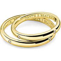 fede donna gioielli Comete Dante e Beatrice ANB 1862G M20