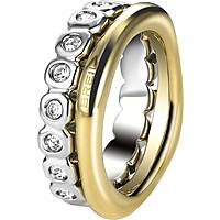 Fingerring frau Schmuck Breil Rolling Diamonts TJ1544