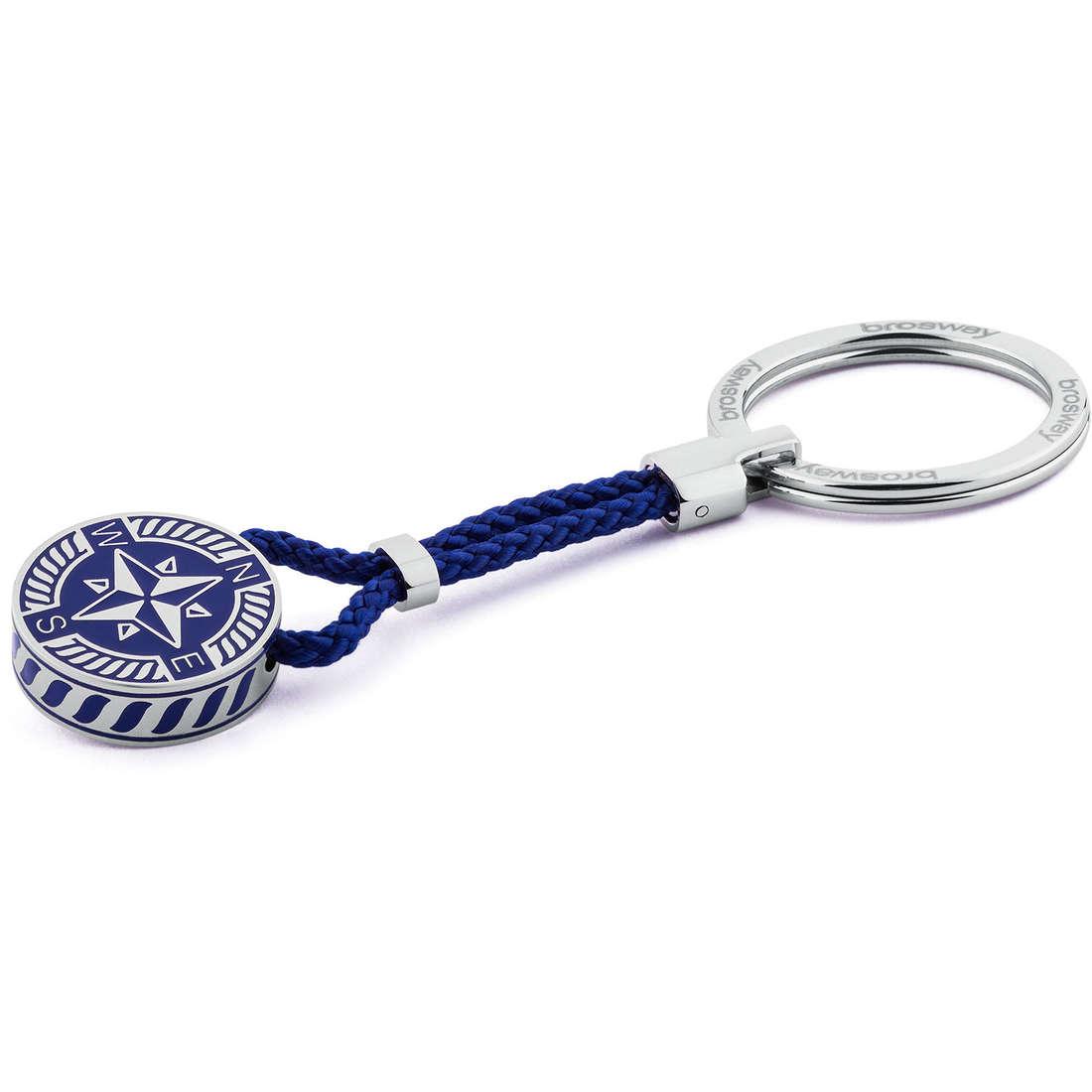 key-rings man jewellery Brosway Nautilus BNU51