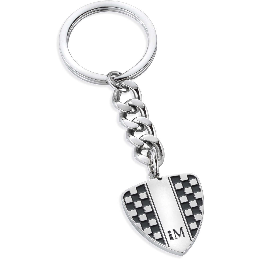 key-rings man jewellery Morellato CORSA RACING BLACK ENAMEL SU3027