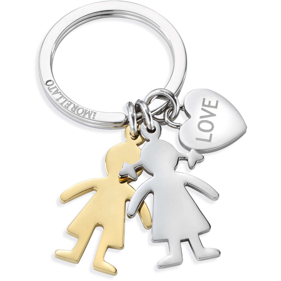 key-rings woman jewellery Morellato LOVE BOY & GIRL SD7128