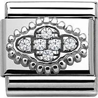 modulaire femme bijoux Nom.Composable Pave 330316/01