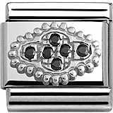 modulaire femme bijoux Nom.Composable Pave 330316/02
