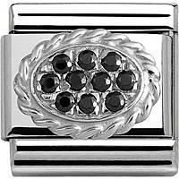 modulaire femme bijoux Nom.Composable Pave 330316/04
