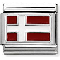 modulaire homme bijoux Nom.Composable Bandiere 330207/08