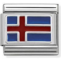 modulaire homme bijoux Nom.Composable Bandiere 330207/11