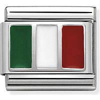 modulaire homme bijoux Nom.Composable Bandiere 330207/16