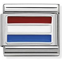 modulaire homme bijoux Nom.Composable Bandiere 330207/19