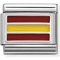modulaire homme bijoux Nom.Composable Bandiere 330207/22