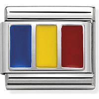 modulaire homme bijoux Nom.Composable Bandiere 330207/24