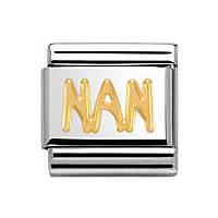 modulaire unisex bijoux Nom.Composable 030107/17