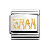 modulaire unisex bijoux Nom.Composable 030107/18