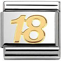modulaire unisex bijoux Nom.Composable 030109/34