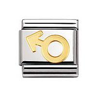 modulaire unisex bijoux Nom.Composable 030116/05