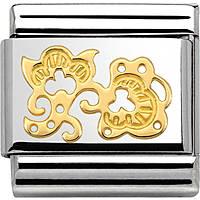 modulaire unisex bijoux Nom.Composable 030158/12