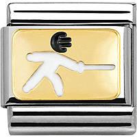 modulaire unisex bijoux Nom.Composable 030259/06