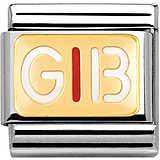 modulaire unisex bijoux Nom.Composable 030261/33
