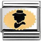 modulaire unisex bijoux Nom.Composable 030285/16