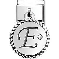 modulaire unisex bijoux Nom.Composable 031715/05