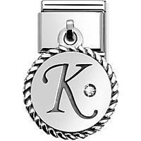 modulaire unisex bijoux Nom.Composable 031715/11