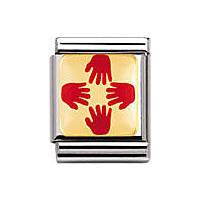 modulaire unisex bijoux Nom.Composable 032240/11