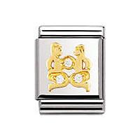 modulaire unisex bijoux Nom.Composable 032302/03