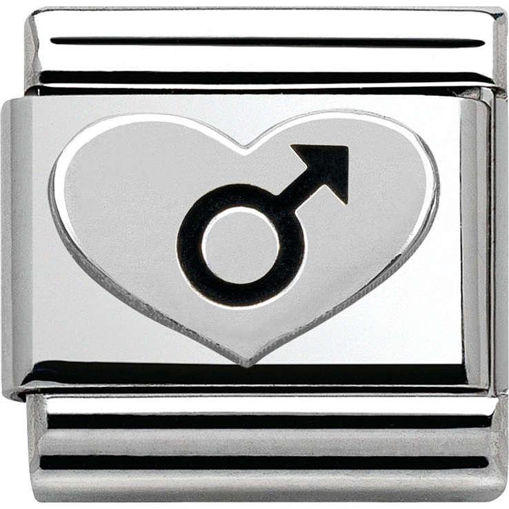 modulaire unisex bijoux Nom.Composable 330101/07