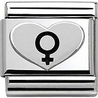 modulaire unisex bijoux Nom.Composable 330101/08