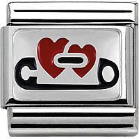 modulaire unisex bijoux Nom.Composable 330206/04
