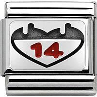 modulaire unisex bijoux Nom.Composable 330208/03