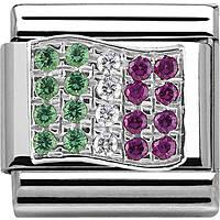 modulaire unisex bijoux Nom.Composable 330318/02