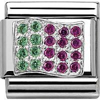modulaire unisex bijoux Nom.Composable 330318/06