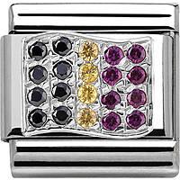 modulaire unisex bijoux Nom.Composable 330318/10