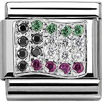 modulaire unisex bijoux Nom.Composable 330318/21
