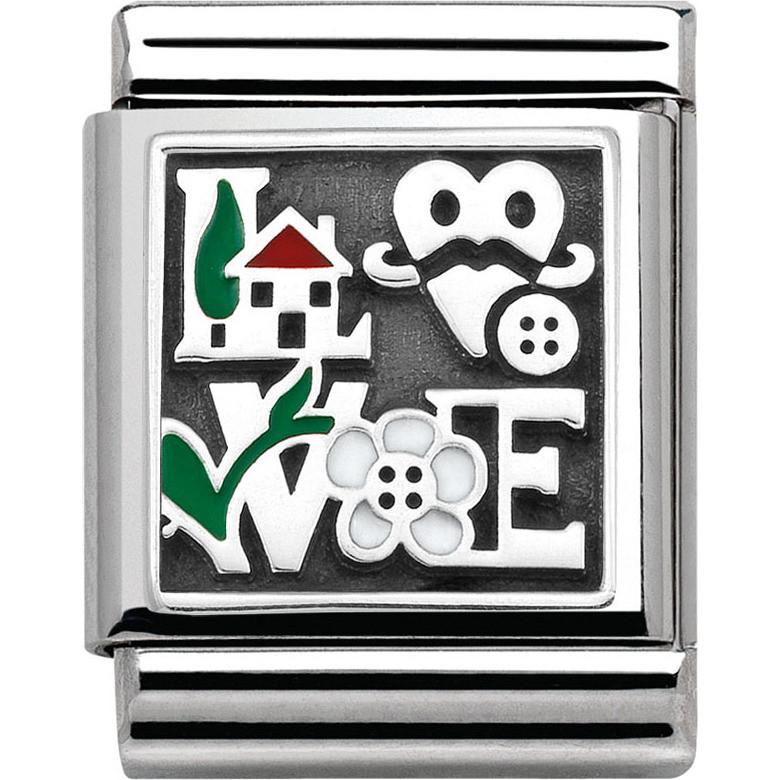 modulaire unisex bijoux Nom.Composable 332203/14