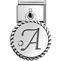 modulaire unisex bijoux Nom.Composable Lettere 031715/01