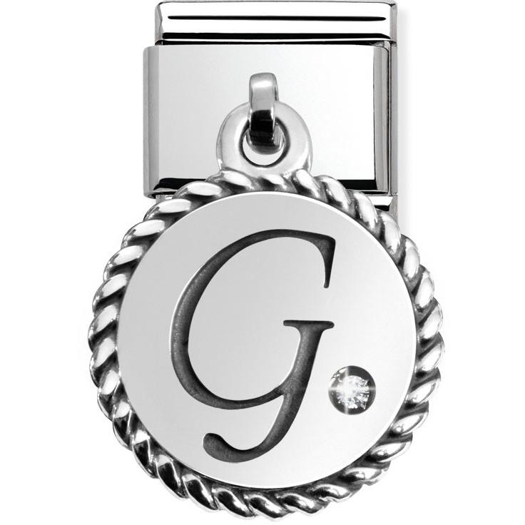 modulaire unisex bijoux Nom.Composable Lettere 031715/07