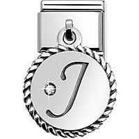 modulaire unisex bijoux Nom.Composable Lettere 031715/10