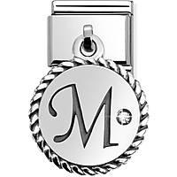 modulaire unisex bijoux Nom.Composable Lettere 031715/13