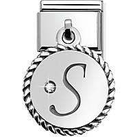 modulaire unisex bijoux Nom.Composable Lettere 031715/19
