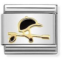 modulaire unisex bijoux Nom.Composable Simboli 030272/29