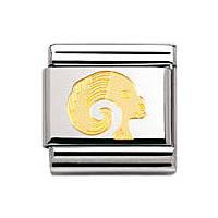 modulaire unisex bijoux Nomination Composable 030104/01