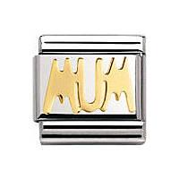 modulaire unisex bijoux Nomination Composable 030107/14