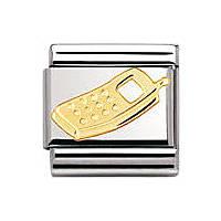 modulaire unisex bijoux Nomination Composable 030108/11